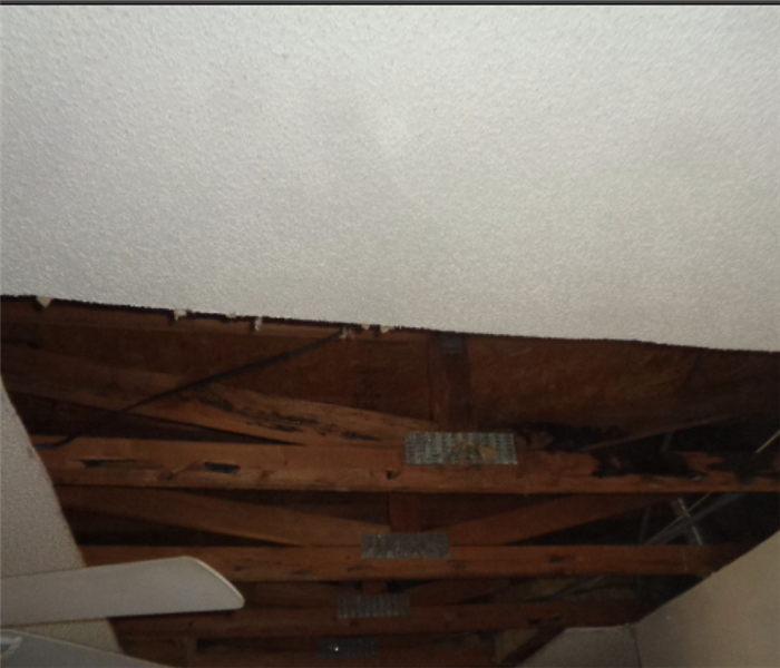 When water damage leads to mold Before
