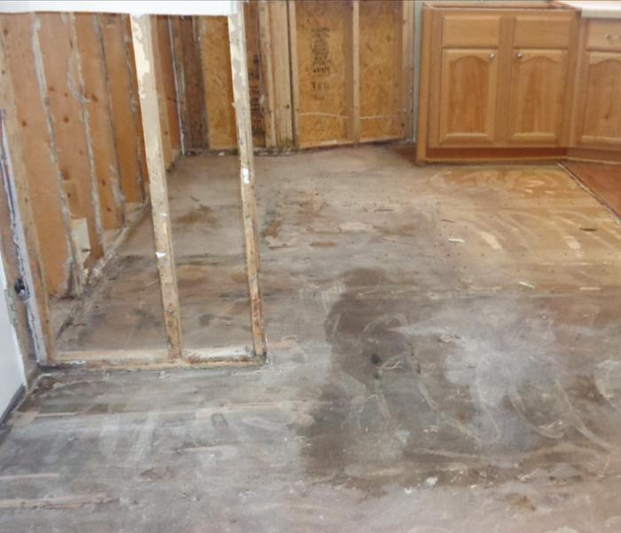Flood Cuts And Flooring Removal